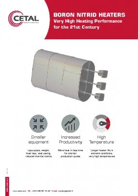 High-flux bolt heaters – Cetal