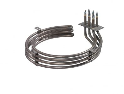 Bended heating elements