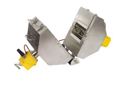 Split-oven heating systems for tubular reactors